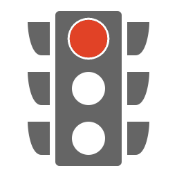 Icon Traffic Light red